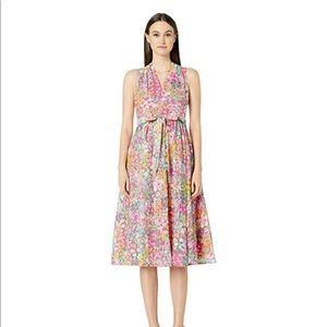 NWT Kate Spade Floral Dots Burnout Dress Size 10